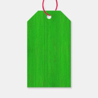Bright Green Bamboo Wood Grain Look
