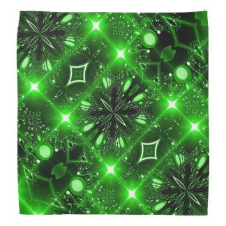 Bright green brilliant bandana