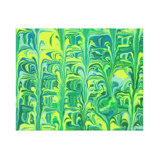 Bright Green Canvas Prints
