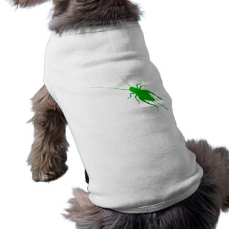 Bright Green Cricket Pet Tee Shirt