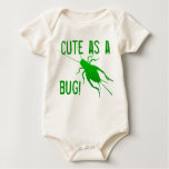 Bright Green Cricket Rompers
