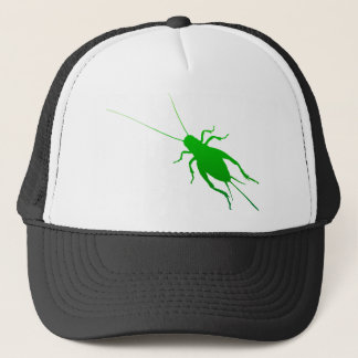 Bright Green Cricket Trucker Hat