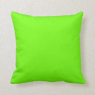Bright Green Cushion