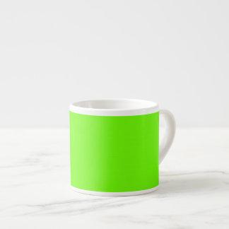 Bright Green Espresso Cup