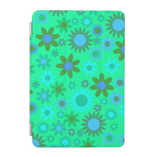 Bright Green Flower Power iPad Mini Cover