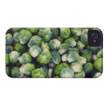 Bright Green Fresh Brussels Sprouts iPhone 4 Covers