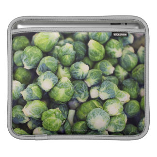 Bright Green Fresh Brussels Sprouts iPad Sleeve