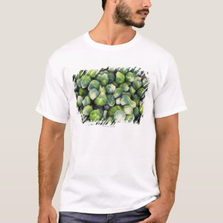 Bright Green Fresh Brussels Sprouts T-Shirt