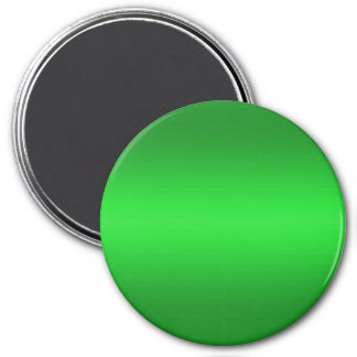 Bright Green Gradient - Emerald Greens Template B 7.5 Cm Round Magnet