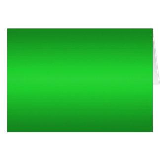Bright Green Gradient - Emerald Greens Template B Card