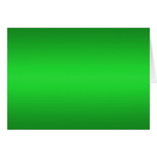 Bright Green Gradient - Emerald Greens Template B Greeting Card