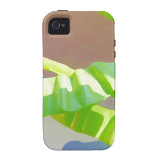 Bright Green Leaves iPhone 4 Cover