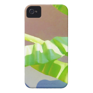 Bright Green Leaves. iPhone 4 Cover