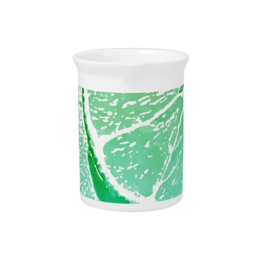 Bright Green Lime Pitcher