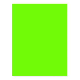 Bright Green Postcard