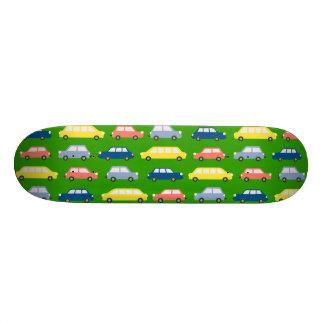 Bright Green Speed Like Car Skateboard