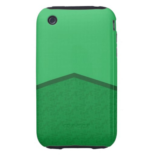 bright green texture point tough iPhone 3 cover