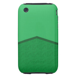 bright green texture point tough iPhone 3 case