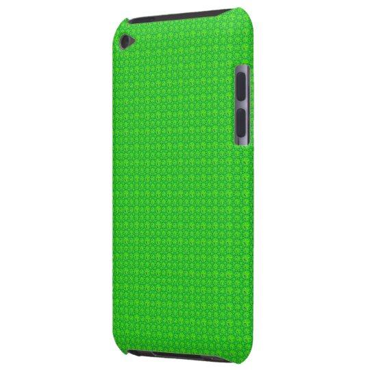 Bright Green Tones Diamonds Seamless Pattern iPod Case-Mate Case