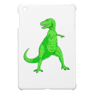 Bright Green Tyrannosaurus Rex iPad Mini Covers