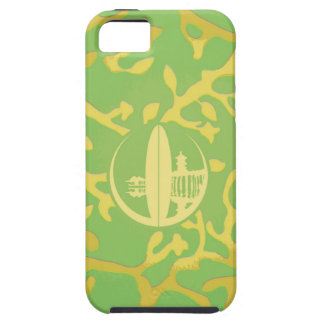 Bright Green & Yellow Coral iPhone 5 Case