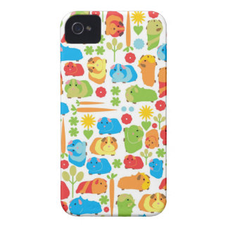 Bright Guinea Pig Patch iPhone 4 Cover