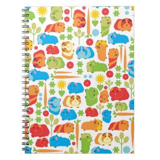 Bright Guinea Pig Patch Notebook