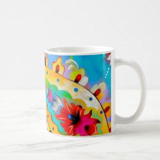 bright gypsy patterned paisley mug