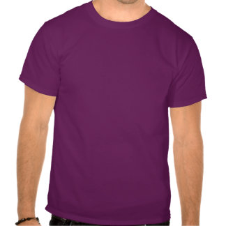Bright Happy Abstract Purple and Green Tee Shirts