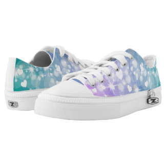 Bright hearts low tops