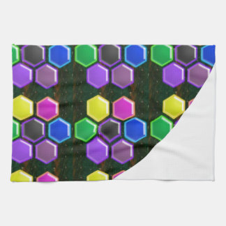 BRIGHT Hexagon Sparkle BUTTONS GoodLUCK lowprice Kitchen Towels