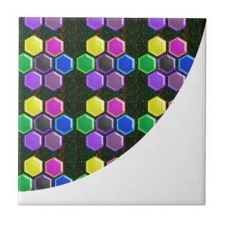 BRIGHT Hexagon Sparkle BUTTONS GoodLUCK lowprice Tiles