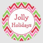Bright Holiday Stickers