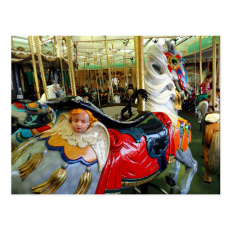 Bright Horse. Postcard