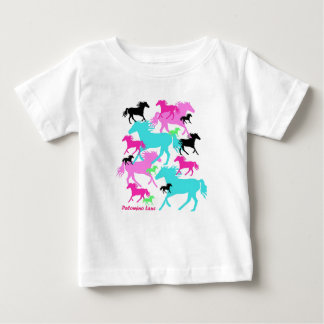 Bright Horses Baby T-Shirt