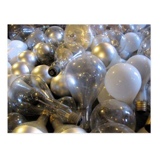Bright Idea - Light Bulb Postcard