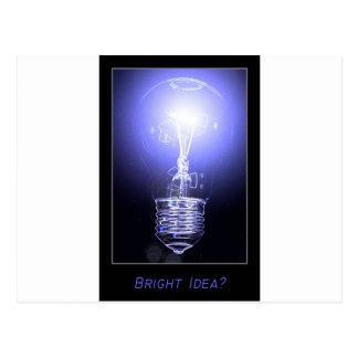 Bright Idea Post Card