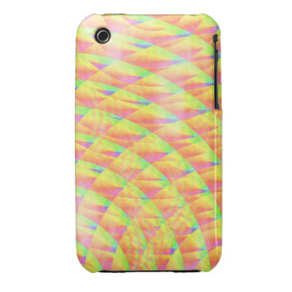 Bright Interference iPhone 3 Case