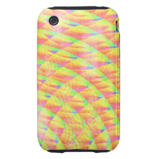Bright Interference iPhone 3 Tough Covers