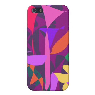 Bright Irregular Forms 2 iPhone 5 Covers