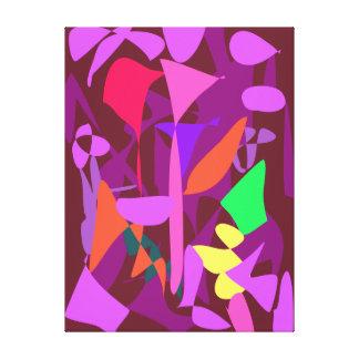 Bright Irregular Forms 3 Canvas Print