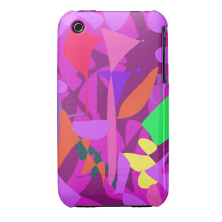 Bright Irregular Forms 4 iPhone 3 Cover