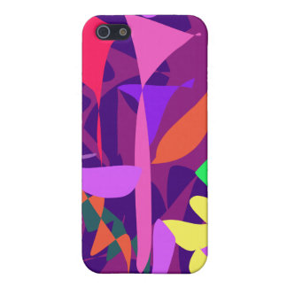Bright Irregular Forms iPhone 5 Cases
