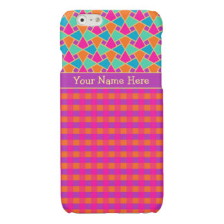 Bright Islamic Mosaic and Check Patterns iPhone 6 Plus Case