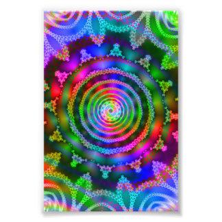 Bright Kaleidoscope Photographic Print