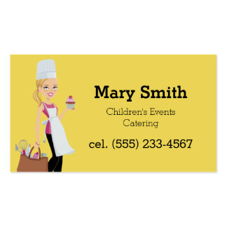 Kids party planners gifts t shirts art posters other for Party business card ideas