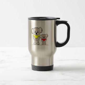 Bright Koalas Travel Mug