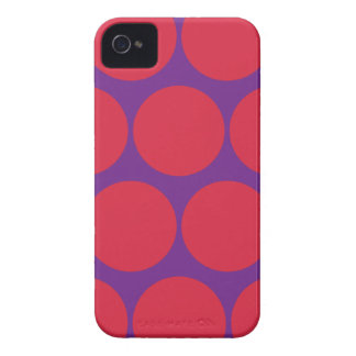 Bright Large Polka Dot Iphone 4/4S Case iPhone 4 Cover