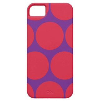 Bright Large Polka Dot iPhone 5 Case