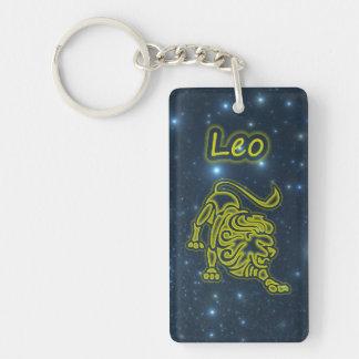 Bright Leo Key Ring